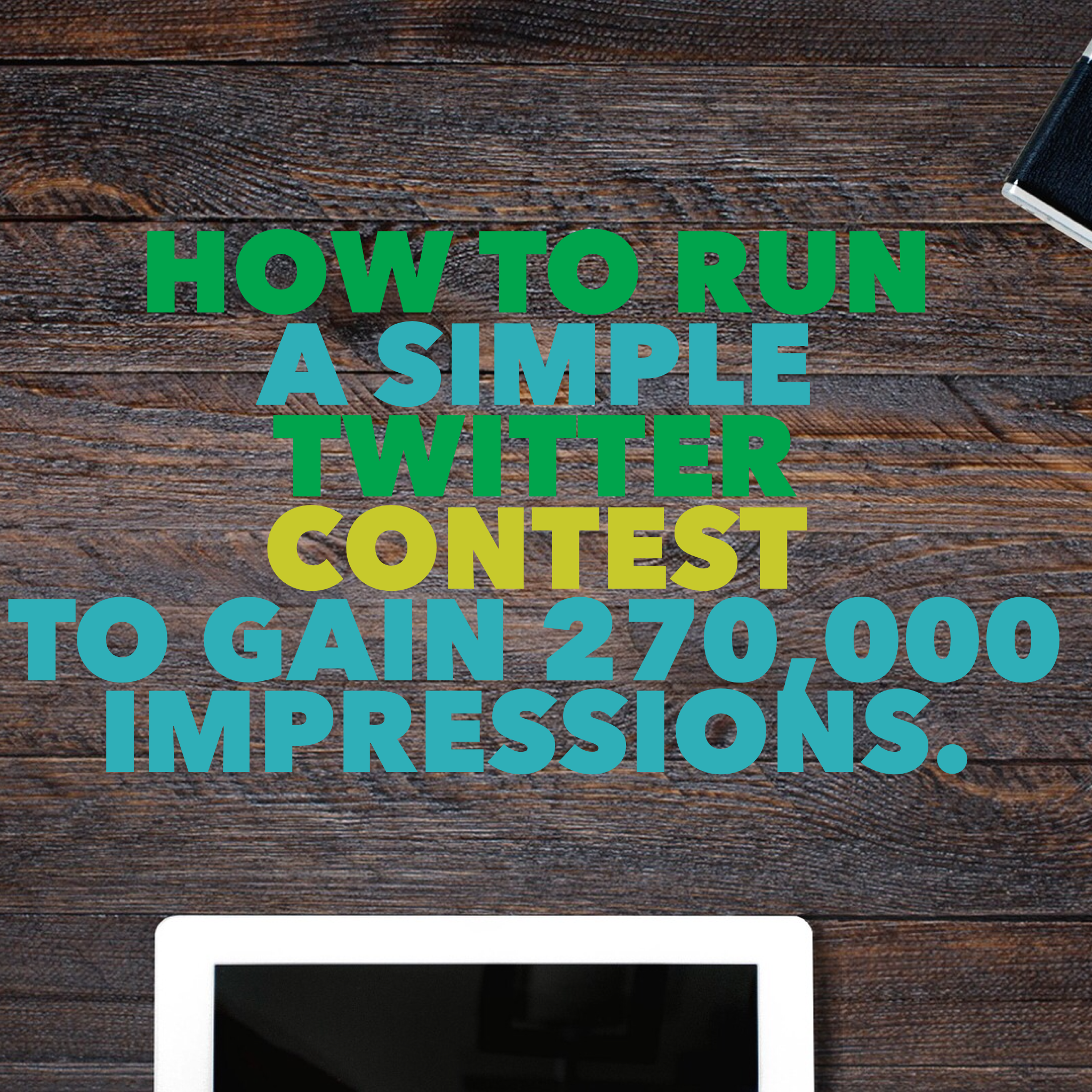 Twitter contest for Small Business owners